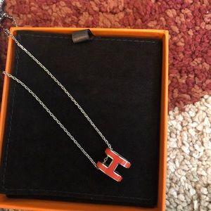 Hermes 100% authentic pop H necklace mint conditi